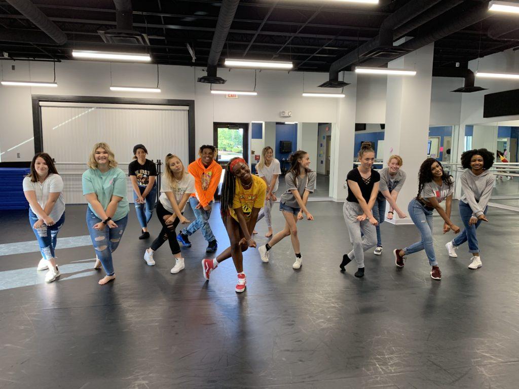 School of the Arts students bond through dance.
